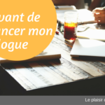 5 choses à faire avant de lancer son blogue d'auteur
