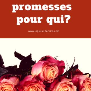 Épisode # 23: Des promesses divines, pour qui?